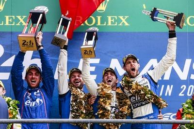 Pierwsze miejsce w wyścigu 24h Le Mans