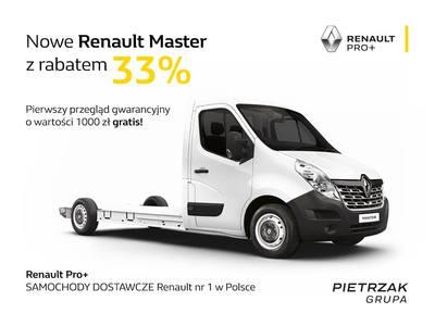 Nowe samochody Renault Master