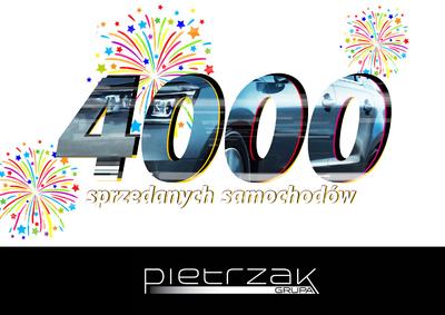 SPRZEDALIŚMY 4000 NOWYCH SAMOCHODÓW W 2015 ROKU!