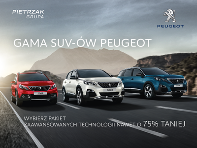 Nowa gama SUV-ów Peugeot
