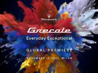 Mediolan, 16 listopada 2021: Globalna premiera Maserati Grecale