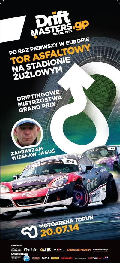 Drift Masters Grand Prix 2014: druga runda Motoarena Toruń