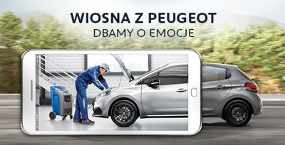 Wiosenna kontrola Twojego Peugeot