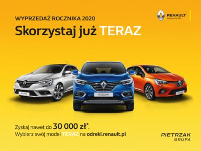 Wyprzedaż Renault trwa!