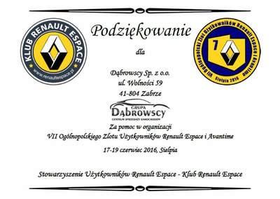 Współpraca z Klubem Renault Espace