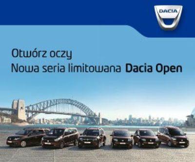 Dacia OPEN - nowa seria limitowana