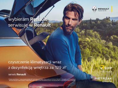 Letni serwis z Renault