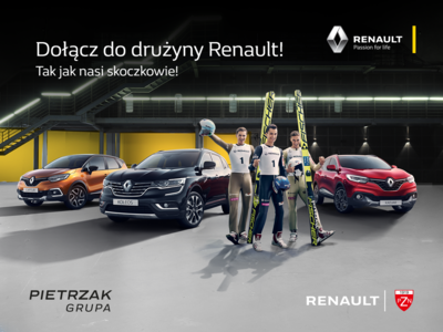 Dołącz do Drużyny Renault i zyskaj nawet do 14 000 zł!
