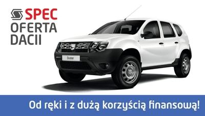 Dacia - oferta specjalna z korzyścią