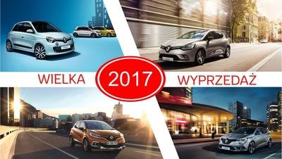 Wielka wyprzedaż samochodów z rocznika 2017!
