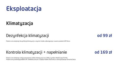 Akcja LATO w serwisach Dacia