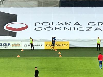 Grupa Dąbrowsy sponsorem głównym Klubu Górnik Zabrze.