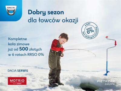 Zimowa promocja - Dacia serwis