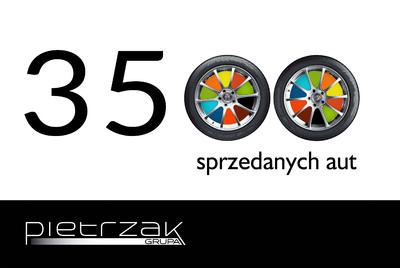 SPRZEDALIŚMY JUŻ 3500 NOWYCH SAMOCHODÓW W 2016 ROKU!