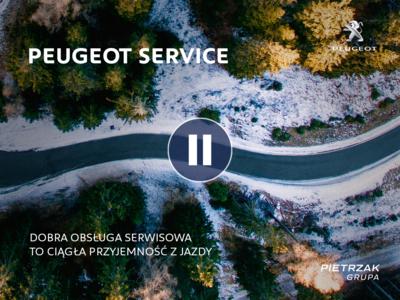 Zima z Peugeot