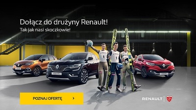 Dołącz do drużyny Renault i bądź gotowy na sezon zimowy