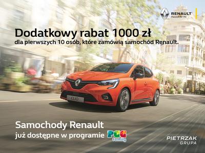 Specjalna oferta w PGG Family od Renault Pietrzak