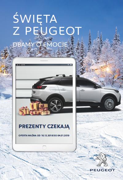 Święta z Peugeot