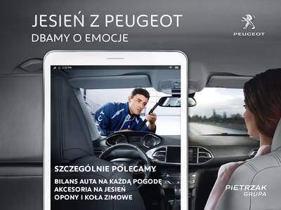 Jesień z Peugeot