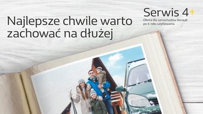 Zima w Serwisie Renault 4+