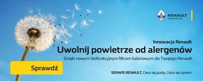 Antyalergiczny Filtr Kabinowy Renault