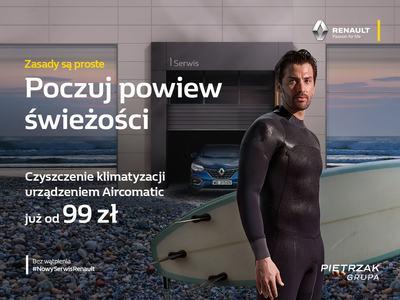 Letnia promocja serwisowa w Renault