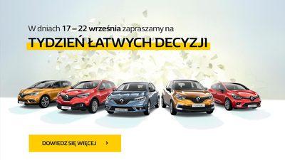 Tydzień Łatwych Decyzji w Renault 17-22 września