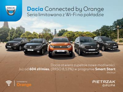 Dacia w limitowanej serii z WIFI na pokładzie