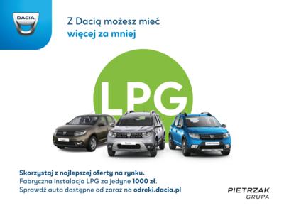 Dacia z fabryczną instalacją LPG!