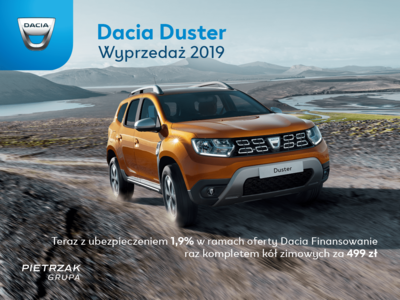 Dacia Duster Wyprzedaż 2019