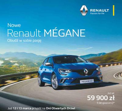 12-13 marca - Nowy Renault MEGANE w salonach Grupy Pietrzak