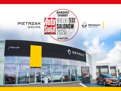 Renault Katowice bardzo dobrym salonem w rankingu Auto Świat