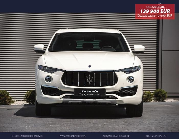 Maserati <em>Levante </em> S GranLusso MY19 | Zegna | OD RĘKI | Autoryzowany Dealer, 2018r.