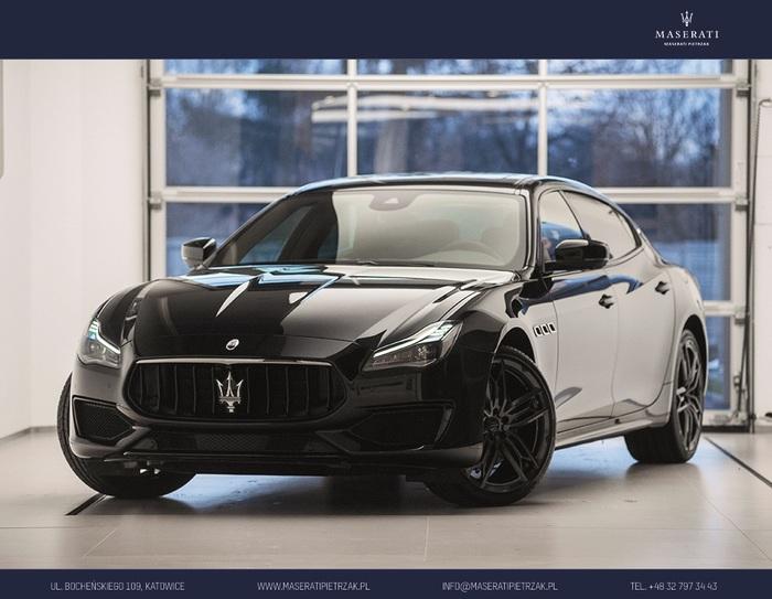 Maserati <em>Quattroporte </em> S Q4 GranSport MY19 | 430KM 4x4| NERISSIMO | Autoryzowany Dealer, 2018r.