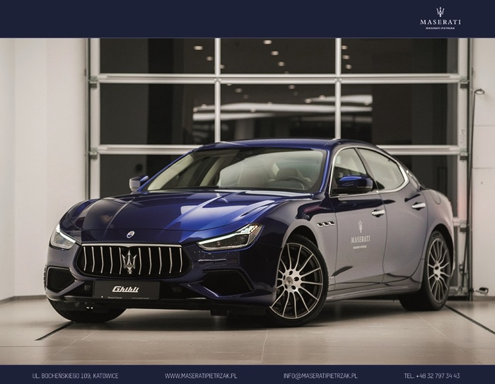 Maserati <em>Ghibli </em> S Q4 MY18 GranSport | 4x4 430KM | Importer Maserati, 2017r.