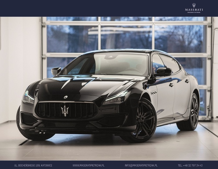 Maserati <em>Quattroporte </em> S Q4 GranSport MY20 | 430KM 4x4| NERISSIMO | Autoryzowany Dealer, 2019r.