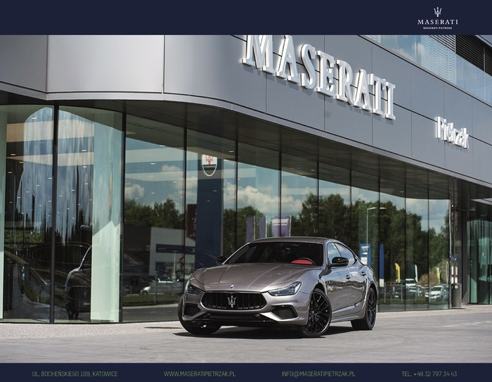 Maserati <em>Ghibli </em> S Q4 GranSport MY20 | Autoryzowany Dealer Maserati, 2019r.