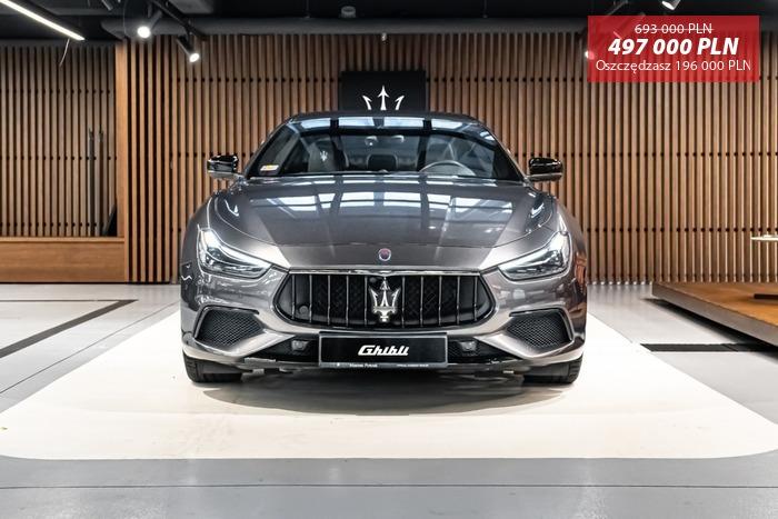 Maserati <em>Ghibli </em> S Q4 GranSport MY19 | 430KM 4x4| NERISSIMO | Autoryzowany Dealer, 2018r.