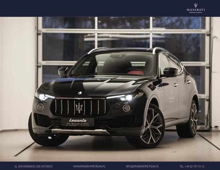 Maserati <em>Levante </em> S GranSport MY18 430KM 4x4 | DACH PANORAMICZNY | Autoryzowany Dealer, 2018r.