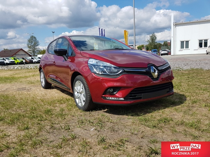 Renault <em>CLIO </em> Limited Plus 1.2 75KM, Łukasz 600.174.023, 2017r.