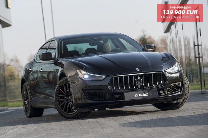 Maserati <em>Ghibli </em> S Q4 RIBELLE LIMITED EDITION MY19 | 430KM 4x4 |  Autoryzowany Dealer, 2018r.