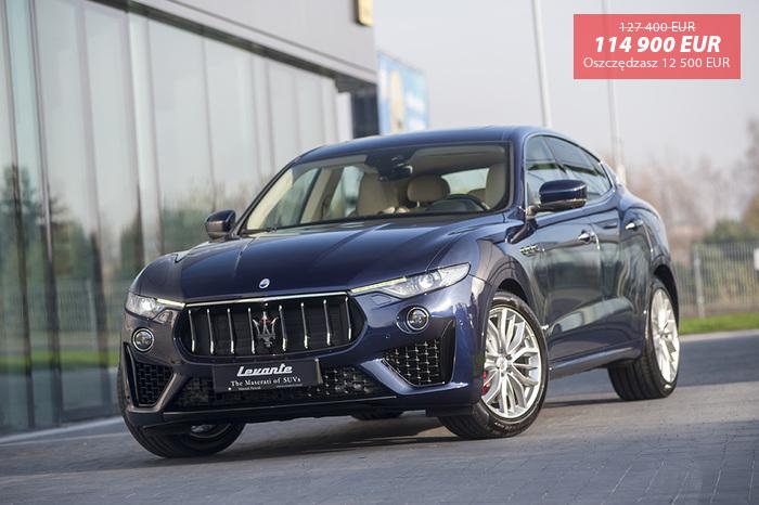 Maserati <em>Levante </em> Diesel GranSport MY19 | Autoryzowany Dealer, 2018r.