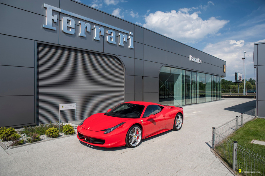 Ferrari <em>458 Italia </em> Official Ferrari Dealer, 2010r.