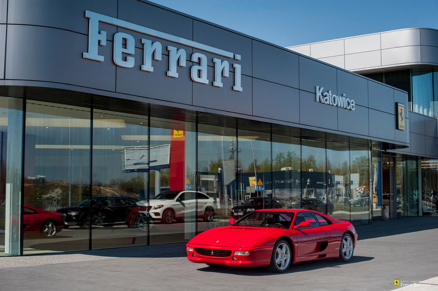 Ferrari <em>F355 </em> Berlinetta. Official Ferrari Dealer, 1994r.