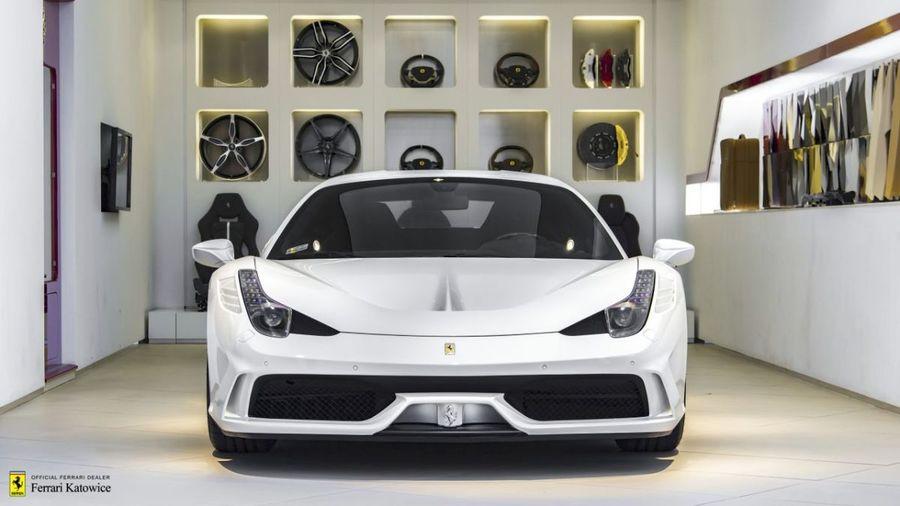 Ferrari <em>458 Italia </em> Speciale. Official Ferrari Dealer, 2014r.
