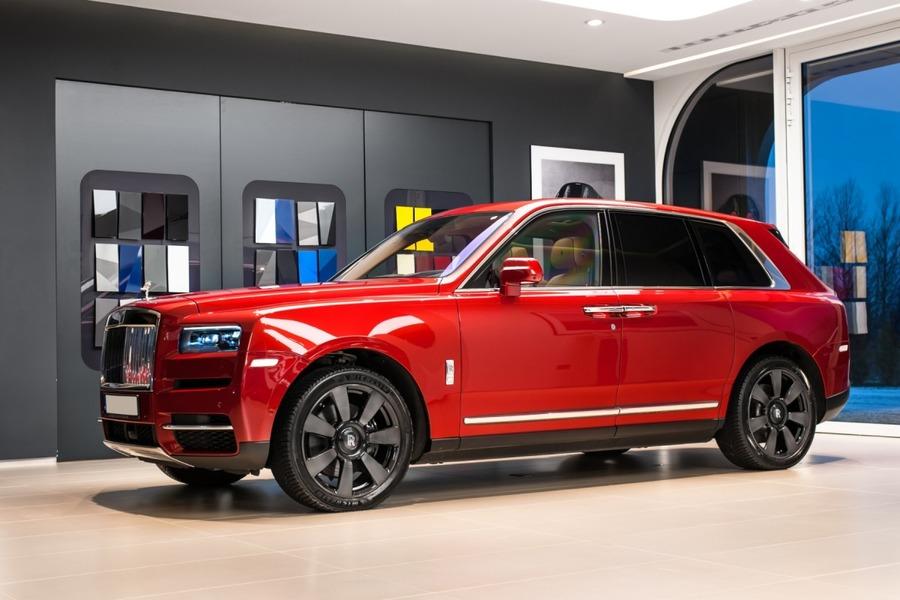Rolls-Royce <em>Cullinan </em>, 2018r.
