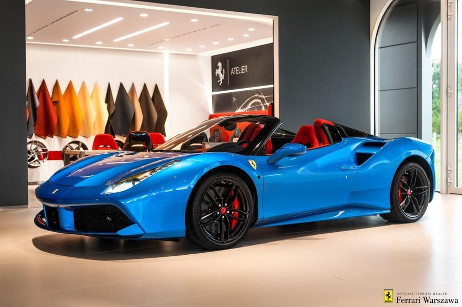Ferrari <em>488 </em> Spider Official Ferrari Dealer, 2017r.