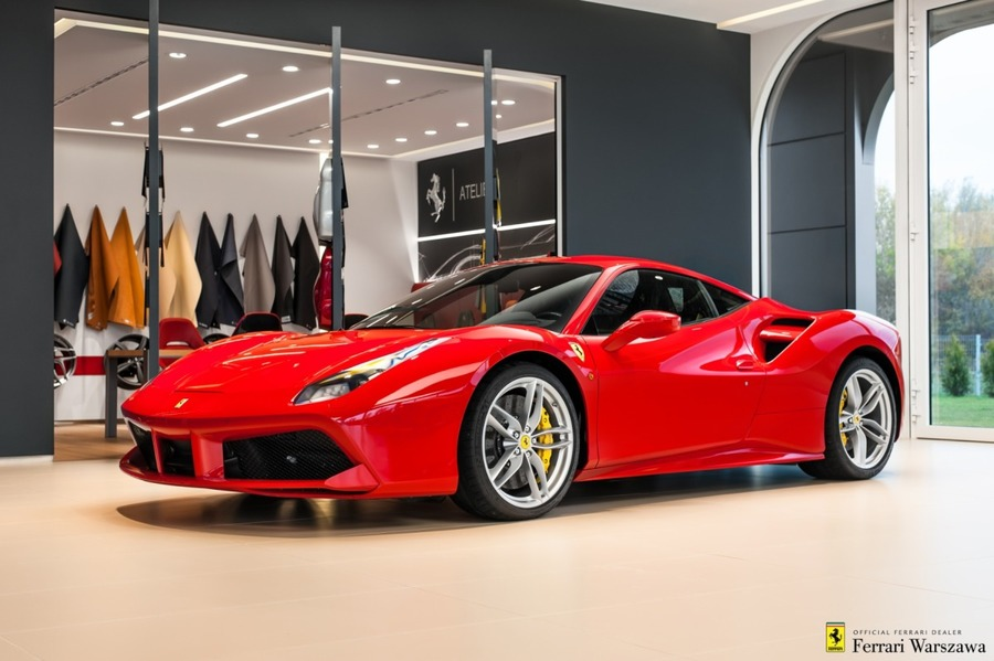 Ferrari <em>488 </em> GTB. Official Ferrari Dealer., 2019r.